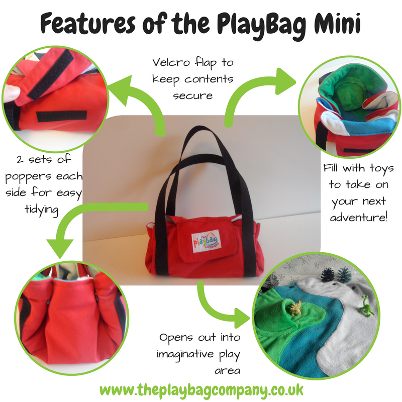 Features of the PlayBag Mini (1)