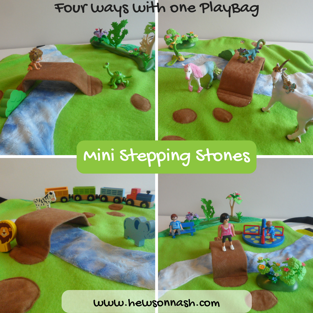 Instagram Four ways with the mini stepping stones