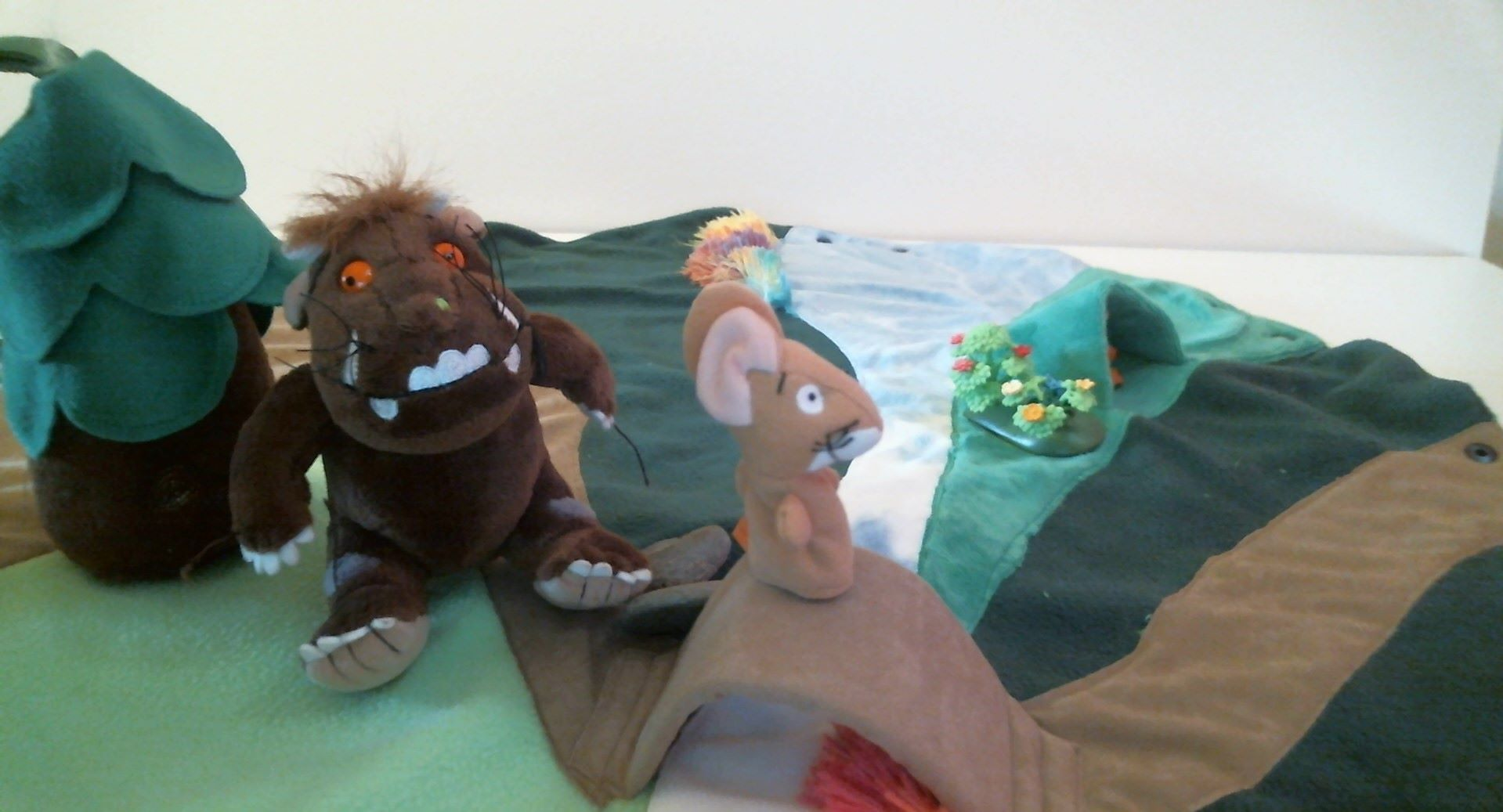 The PlayBag Co retells The Gruffalo