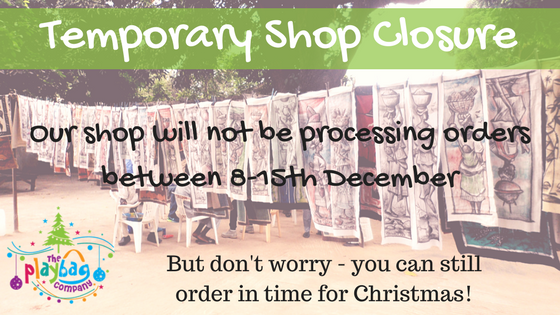 Temporary Shop Closure
