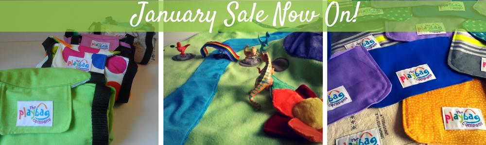 January sale banner