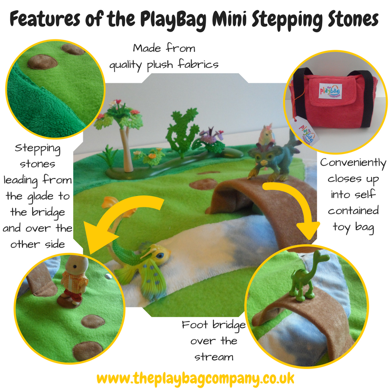 Features of the PlayBag mini Stepping Stones