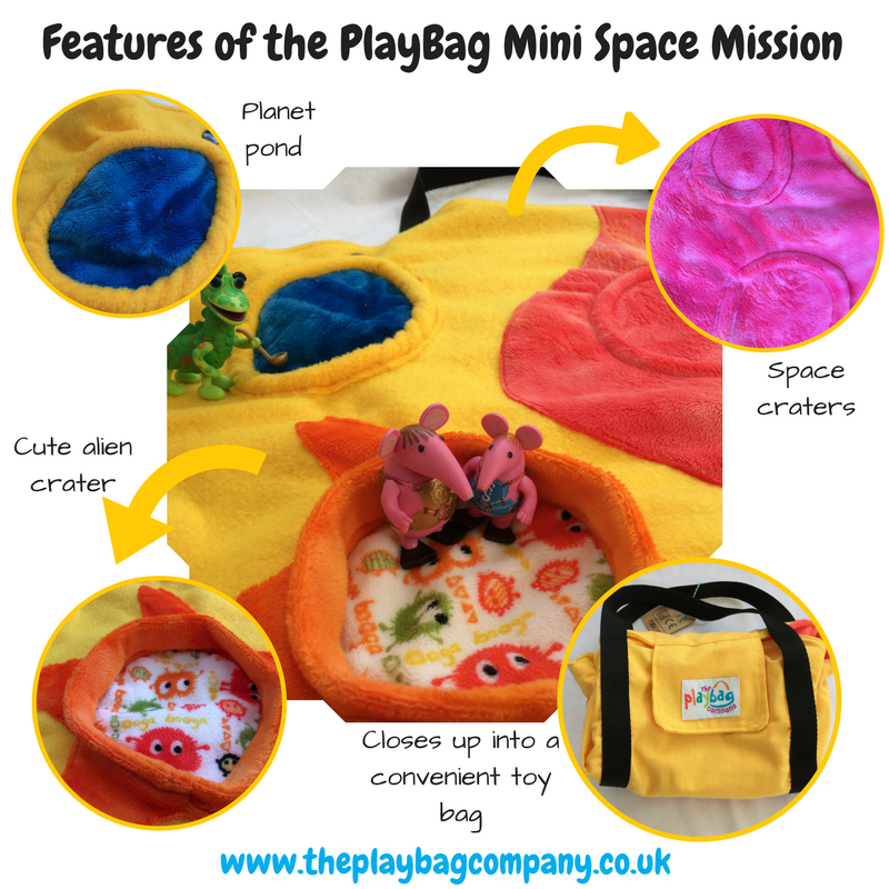 Features of the PlayBag mini Space