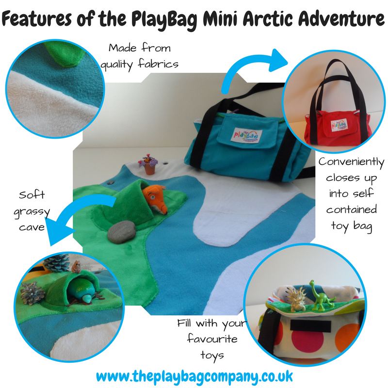 Features of the PlayBag mini arctic