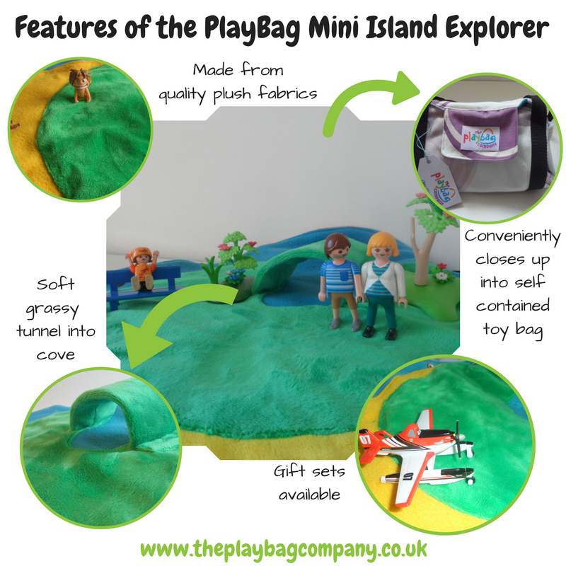 Features of the PlayBag mini Island