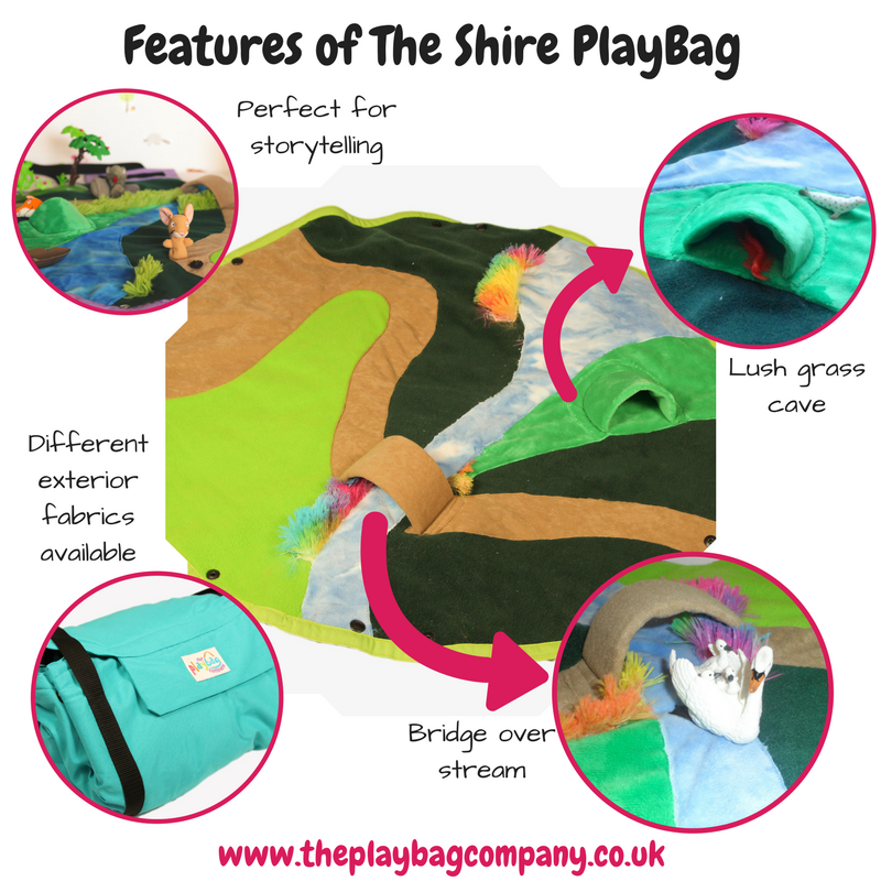 Features of the Shire PlayBag