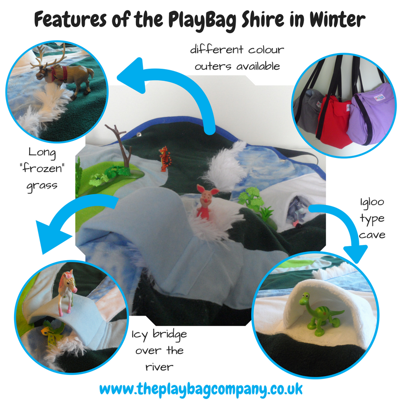 Features of the PlayBag Shire in Winter