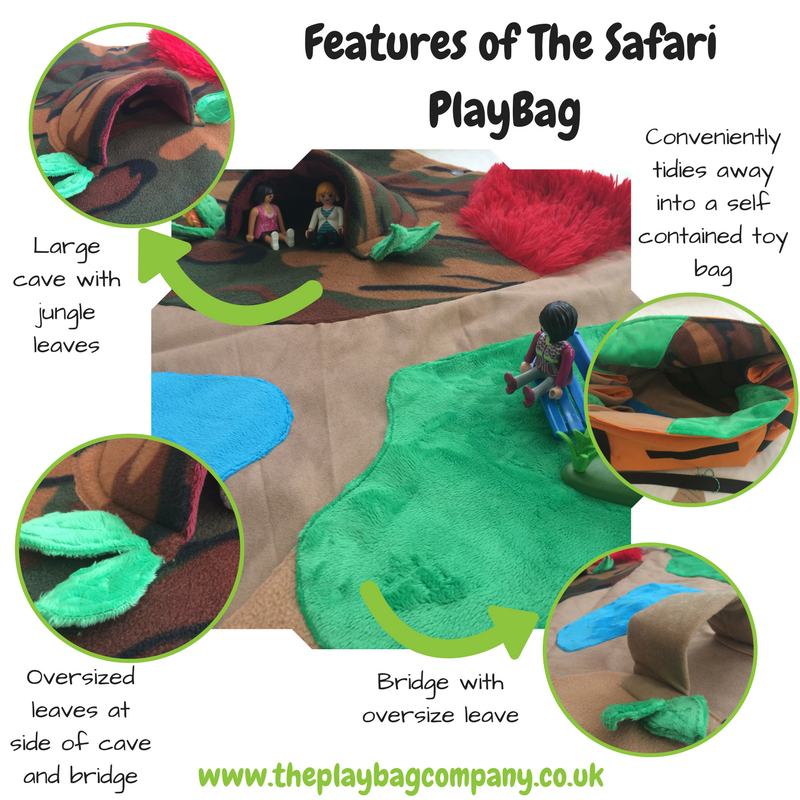 Features of the Safari PlayBag