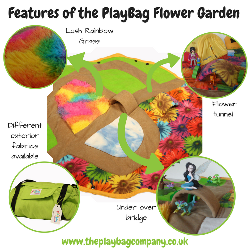Features of the PlayBag flower garden