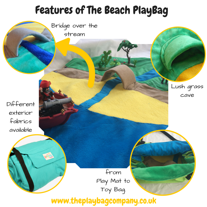 Features of the Beach PlayBag
