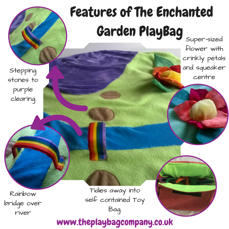 Features of the Enchanted GArden PlayBag