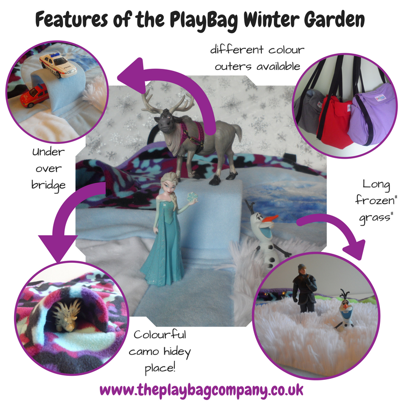 Features of the PlayBag Winter Garden