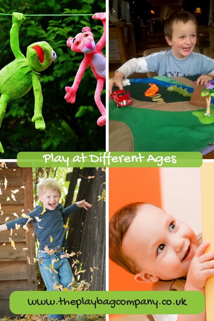 How do children play at different ages?