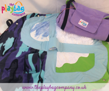 PlayBag Winter Garden with Purple outer
