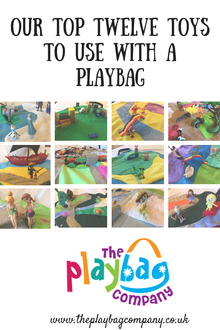 Top Twelve Toys to use with your PlayBag