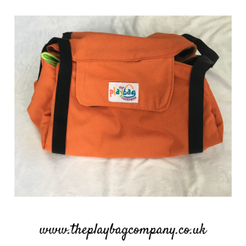 PlayBag Camo Garden - Dark Orange