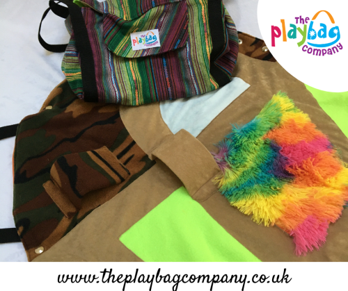 PlayBag Camo Garden - Ethnic Stripes