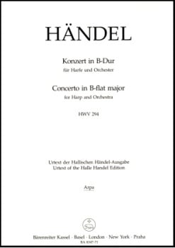 Concerto in B Flat Major HWV294 by Handel