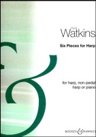 Six Pieces for Harp by David Watkins