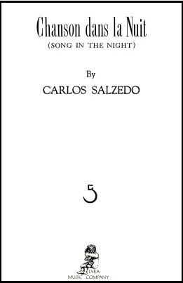 Chanson dans la Nuit by Carols Salzedo