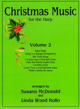 Christmas Music for Harp Volume 2