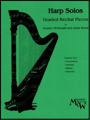 Harp Solos Volume 2 by Susann McDonald and Linda Wood