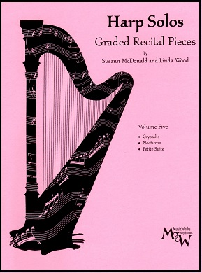 Harp Solos Volume Five by Susann McDonald and Linda Wood