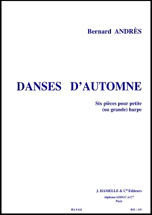 Dances D'Automne by Bernard Andres
