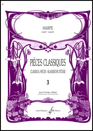 Pieces Classiques Book 3 Transcribed & Edited by Odette Le Dentu