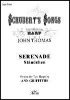 Serenade by Franz Schubert Transcribed for Harp Duet by John Thomas