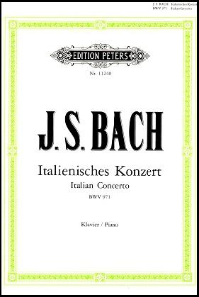 Italian Concerto BWV 971 by J.S. Bach