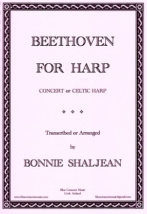Beethoven for Harp Transcribed & Arranged by Bonnie Shaljean