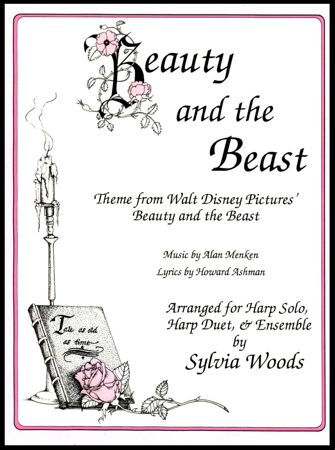 Beauty and the Beast - arranged by Sylvia Woods