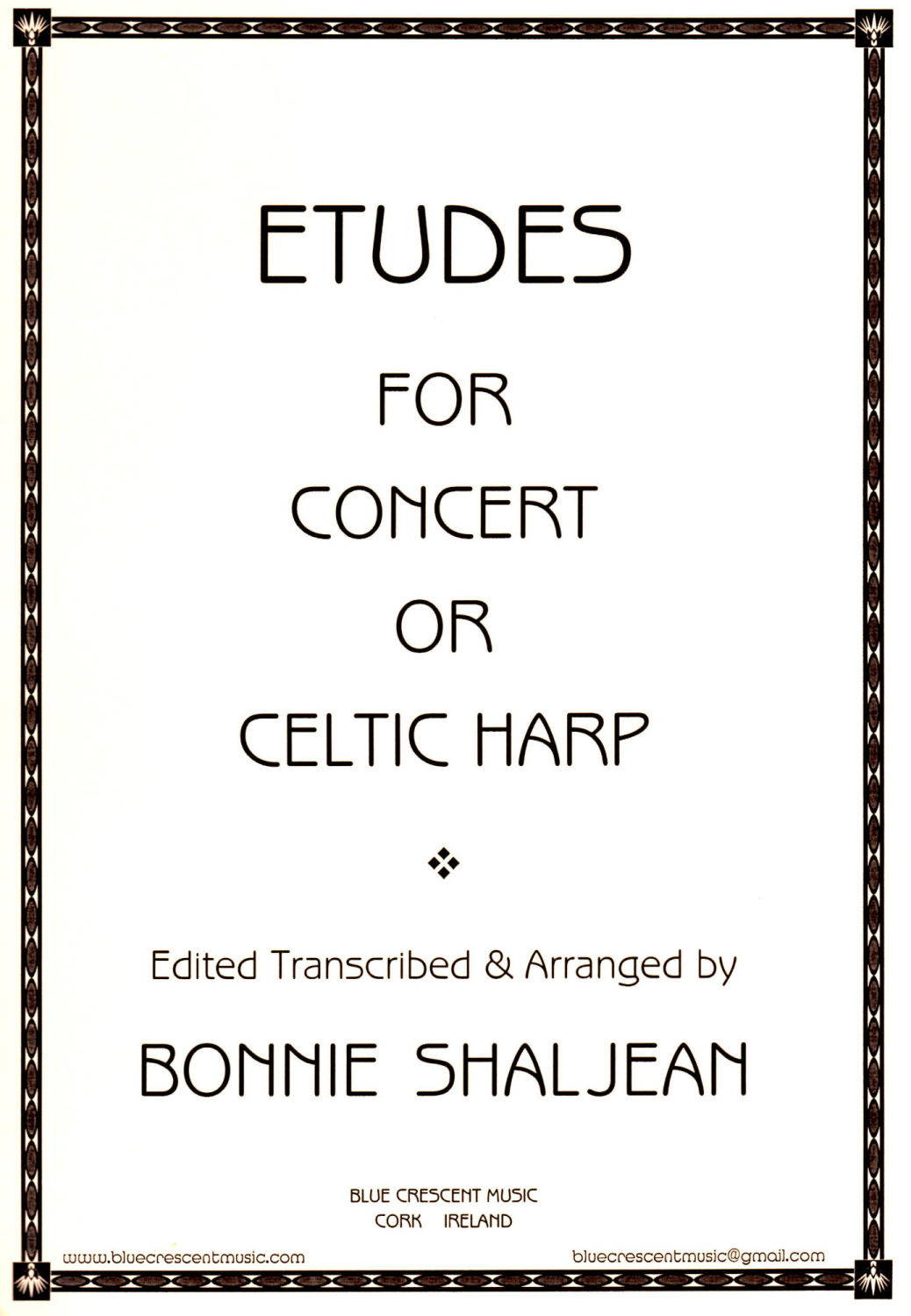 Etudes for Concert or Celtic Harp