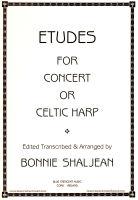Etudes for Concert or Celtic Harp