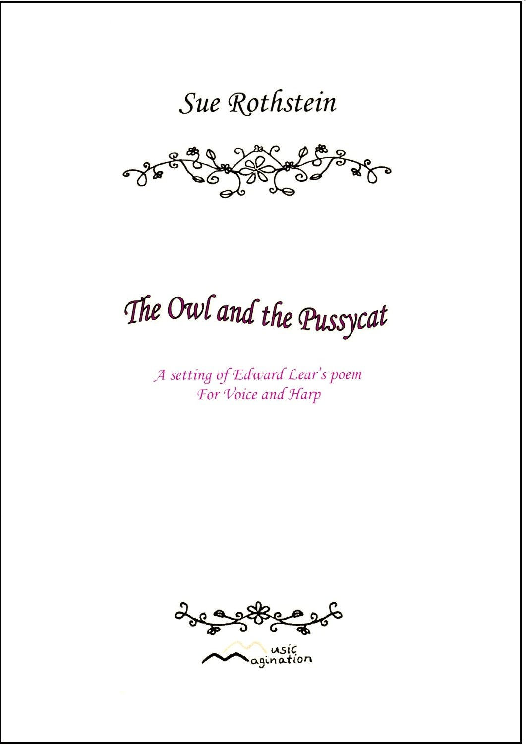 The Owl and the Pussycat - Sue Rothstein