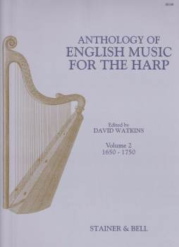 Anthology of English Music for the Harp Volume 2 - Edited by David Watkins