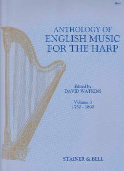 Anthology of English Music for the Harp Volume 3 - Edited by David Watkins