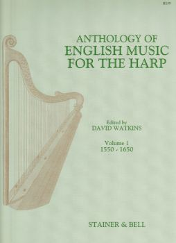 Anthology of English Music for the Harp Volume 1 - Edited by David Watkins