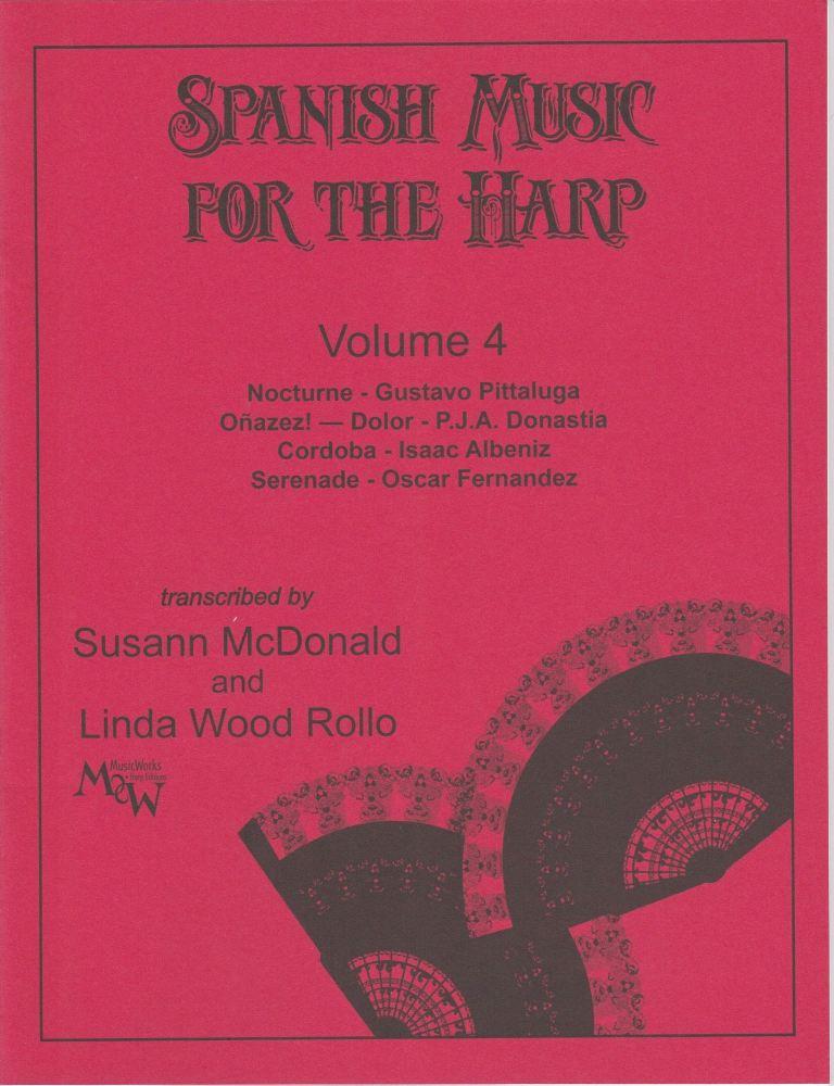 Spanish Music for the Harp Volume 4