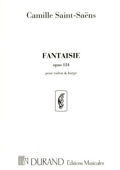 Fantaisie Opus 124 for Harp & Violin - Saint-Saens