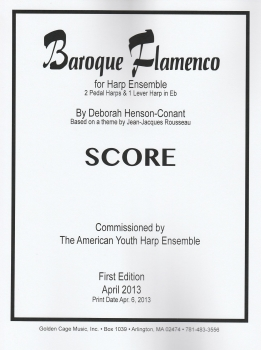 Baroque Flamenco for Harp Ensemble - Deborah Henson-Conant