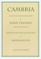 Cambria for Two Lever Harps - John Thomas (Pencerdd Gwalia)
