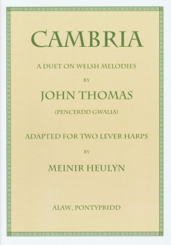 Cambria for Two Lever Harps - John Thomas (Pencerdd Gwalia)
