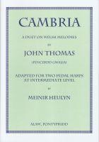 Cambria - Two Pedal Harps - John Thomas (Pencerdd Gwalia)