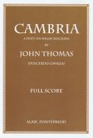 Cambria - Score - John Thomas (Pencerdd Gwalia)
