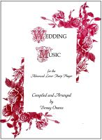 Wedding Music for the Advanced Lever Harp Player