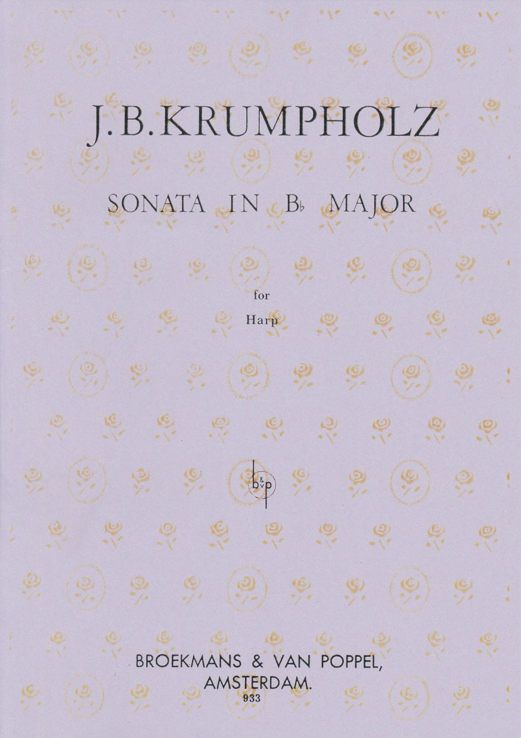 Sonata in Bflat Major - Krumpholtz