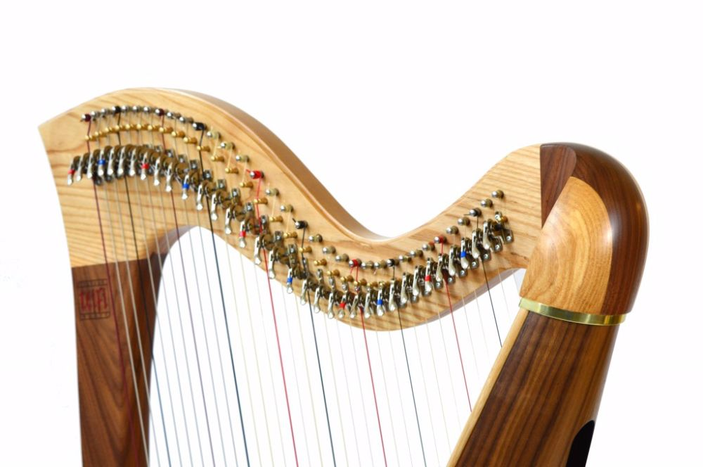 Lever Harp Music
