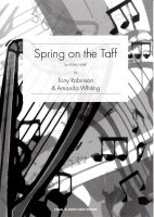 Spring on the Taff - Tony Robinson & Amanda Whiting